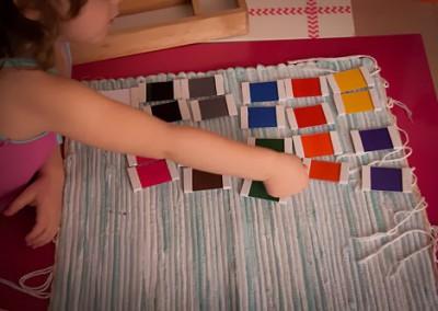 Caja de Color número 1 y 2 DIY