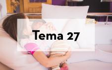 Tema 27 Características especiales para adolescentes